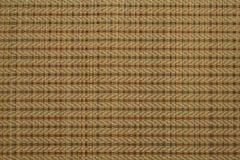 Un tapis tubulaire tisse, travail manuel Image stock