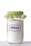 Un tarro de azúcar Fotografía de archivo