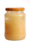 Un tarro de miel Foto de archivo libre de regalías