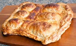 Tarte d'oeufs de pâte feuilletée Photo libre de droits