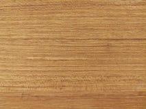 un tavolo della presidenza di legno Fotografia Stock Libera da Diritti