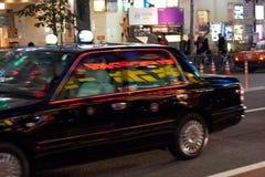 Un taxi en Japón Fotografía de archivo