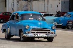 Un taxi en La Habana Foto de archivo