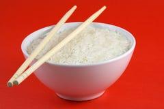 Un tazón de fuente de arroz Imágenes de archivo libres de regalías