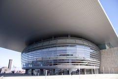 Un teatro de la ópera moderno Imagen de archivo libre de regalías