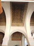 Un techo de Bahia Palace, Marrakesh imagenes de archivo