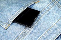 Un teléfono celular Fotos de archivo