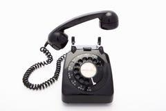 Un telefono della manopola rotativa fotografia stock