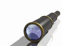 Un telescopio di un pirata Immagini Stock Libere da Diritti