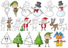 Un tema de la Navidad Fotografía de archivo libre de regalías