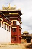 Un tempiale magnific del Tibet Fotografia Stock