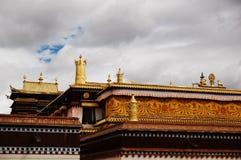 Un tempiale magnific del Tibet Immagine Stock