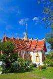 Un tempiale tailandese Wat Chalong, Phuket delle quattro ali Fotografia Stock
