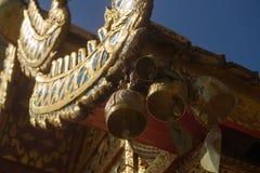 Un tempio di buddisti Fotografia Stock Libera da Diritti