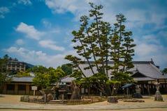 Un tempio giapponese a Kyoto, Giappone Fotografia Stock Libera da Diritti