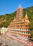 Un tempio Haridwar di 13 piani Fotografia Stock Libera da Diritti