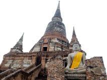 Un temple antique c'est une destination de touristes populaire en Thaïlande Photos libres de droits
