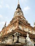 Un temple antique c'est une destination de touristes populaire en Thaïlande Photographie stock libre de droits