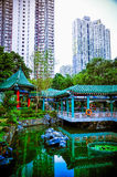 Un temple chinois Image libre de droits