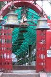 Un temple de Bells a appelé l'Inde d'Almora de temple de Chitai Golu Devta Photos libres de droits