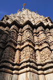 Un temple en pierre indou dans Udaipur Inde Images stock