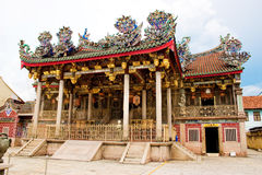 Un temple majestueux grand grand de clan à penang Photographie stock libre de droits