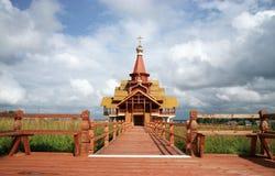 Un temple neuf Photo libre de droits
