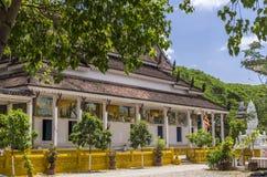 Un templo de Buddisht dentro del compuesto de Angkor Wat Foto de archivo libre de regalías