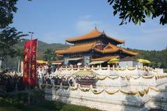 Un templo de China Fotografía de archivo libre de regalías