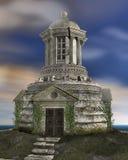 Un templo de hechizo stock de ilustración