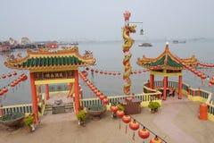 Un templo en asiático Foto de archivo