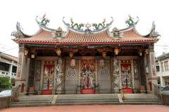 Un templo en asiático Imagen de archivo