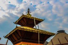 Un templo en la expo 2015 Imagen de archivo libre de regalías