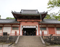 Un templo en Nara Park fotos de archivo