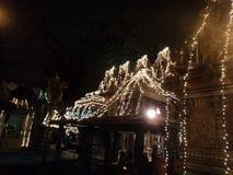 Un templo hindú tradicional fotografía de archivo