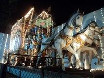 Un templo hindú tradicional imagenes de archivo