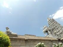 Un templo hindú tradicional fotografía de archivo libre de regalías