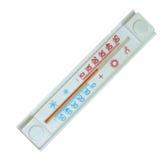 Un termometro in Celsius Fotografia Stock Libera da Diritti