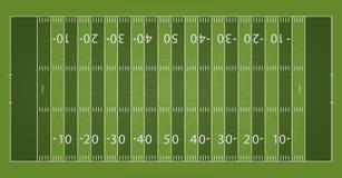 Un terrain de football texturisé réaliste du football d'herbe Le fichier contient des transparences illustration libre de droits