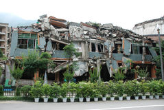 Un terremoto di 2008 512 Wenchuan Immagine Stock