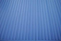 Un tetto blu immagini stock