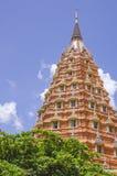 Un Tham Sua Temple, (tempio della caverna della tigre) Kanchanaburi, Tailandia Immagini Stock Libere da Diritti
