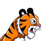 Un tigre très fâché illustration stock