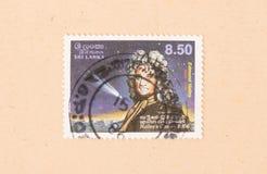 Un timbre imprimé dans Sri Lanka montre la comète de Halley, vers 1980 photos libres de droits