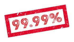 99 un timbro di gomma di 99 per cento Fotografie Stock