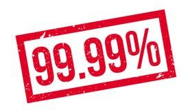 99 un timbro di gomma di 99 per cento Immagine Stock