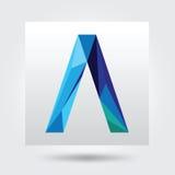 Un tipo vector del símbolo del botón de la muestra del icono del logotipo Fotos de archivo libres de regalías