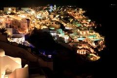Un tiro agradable hermoso en Oia, Santorini fotos de archivo