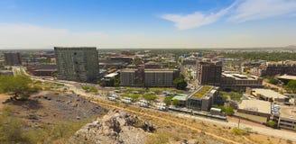 Un tiro de la universidad de estado de Arizona, Tempe Foto de archivo libre de regalías