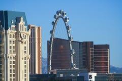 Un tiro del gran apostador en Las Vegas Imagen de archivo libre de regalías